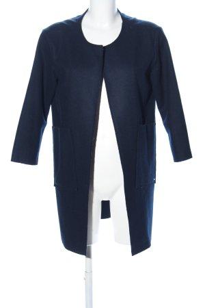 Opus Wollmantel blau Casual-Look
