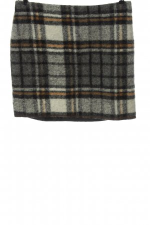 Opus Wool Skirt allover print casual look
