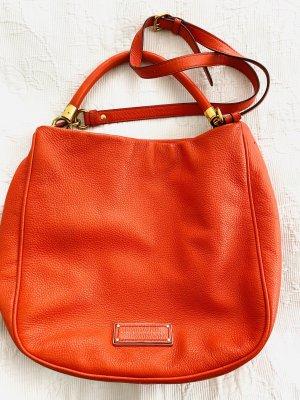 Marc by Marc Jacobs Hobos dark orange leather