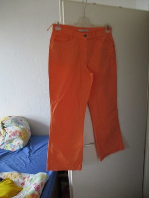 More & More Pantalón tobillero naranja