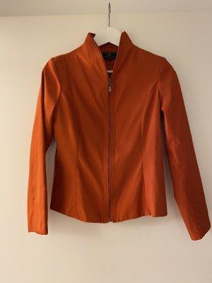 Orange Jacke mit Schimmer von Fendi