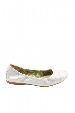 Orange Label Foldable Ballet Flats white casual look