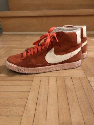 orange Nike Blazer