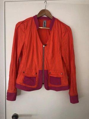Orange Pinke Tuzzi Jacke