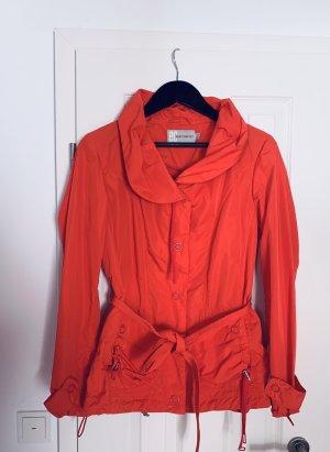 Orange Regen Jacke/ Trenchcoat v Easy Comfort Gr. 36/S