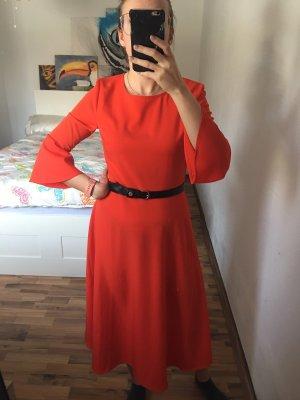 orange/rotes Kleid von Kiomi
