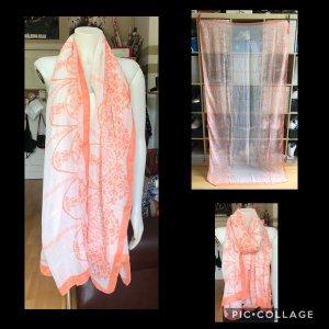 Miss Selfridge Neckerchief white-neon orange