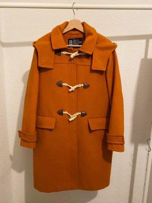 Winterjas donker oranje