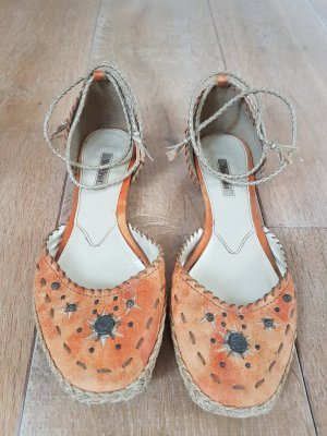 Young Spirit Slingback Ballerinas orange
