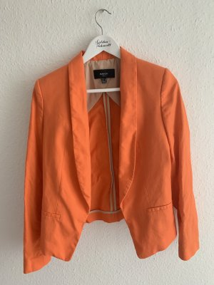 Orangefarbener Blazer