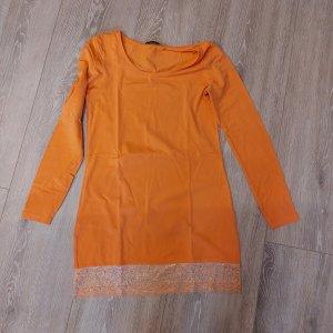 AJC Maglione lungo arancione
