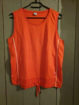 #orangefarbenes Sportshirt #Achselshirt #Sportshirt #Größe XL #H2O