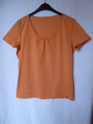 Orangefarbenes T-Shirt von Mangoon (Kaufhof)