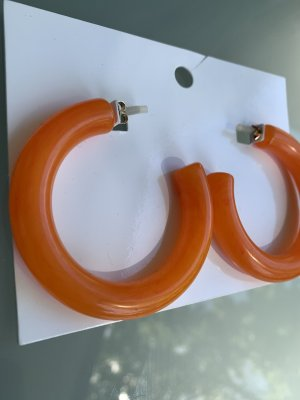 H&M Créoles orange
