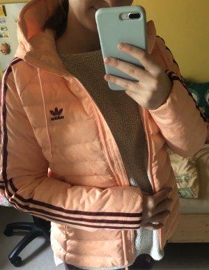 Adidas Doudoune orange fluo-rouge carmin