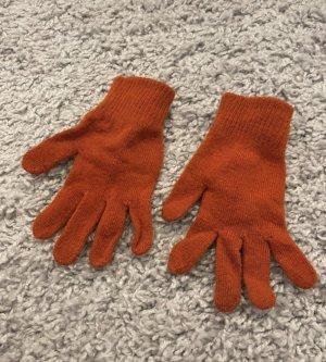 H&M Vingerandschoenen oranje