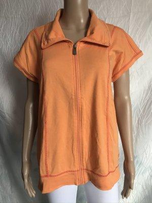 NKD Cardigan à manches courtes orange clair