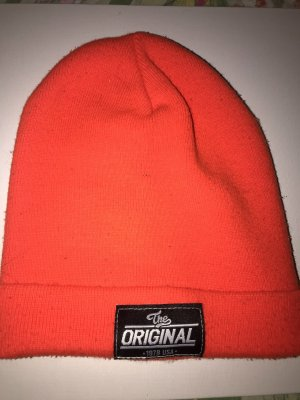 H&M Beanie neon orange-orange