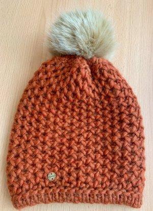 Esprit Knitted Hat dark orange
