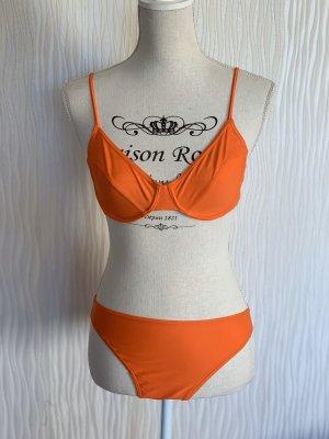 Orangener Bikini von Desiree Gr. 38B