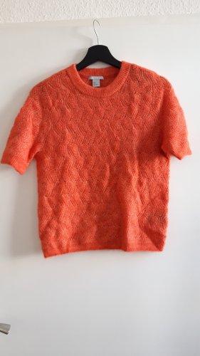 HM Jersey de manga corta naranja