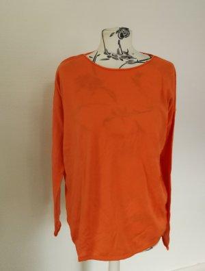 Armedangels Kraagloze sweater oranje