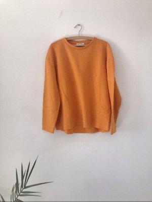 orangener Zara Pullover