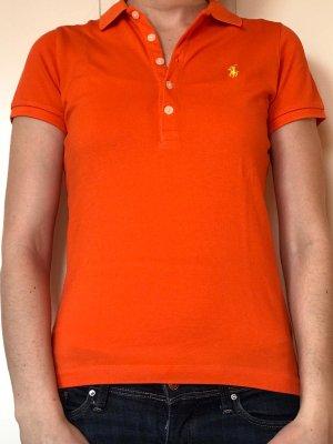 Orangenes Poloshirt Ralph Lauren