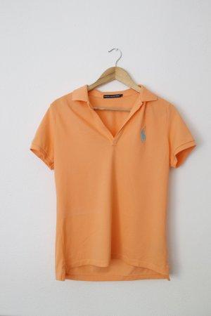 Polo Ralph Lauren Koszulka polo jasny pomarańczowy Bawełna