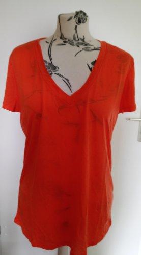 armedangels T-shirt arancio neon-arancione