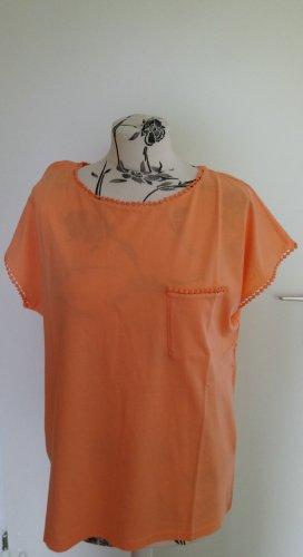 Orangenes Shirt Klaraa Armedangels M
