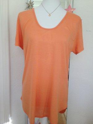 Orangenes Shirt von Zara