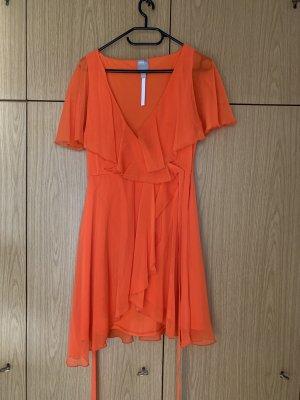 Orangenes Sommerkleid