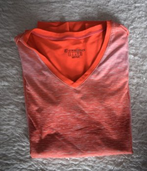 orangenes Sport T-Shirt