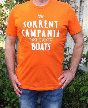 • Orangenes T-Shirt von Mc Neal