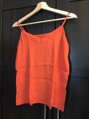 orangenes Trägertop