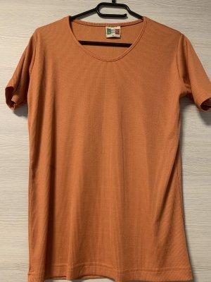 Orangenes Tshirt