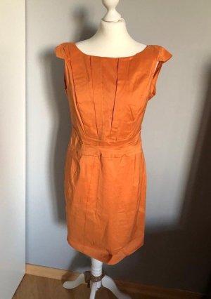 Oranges Kleid von Luisa Cerano, Gr. 38
