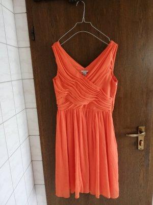 Oranges Sommerkleid