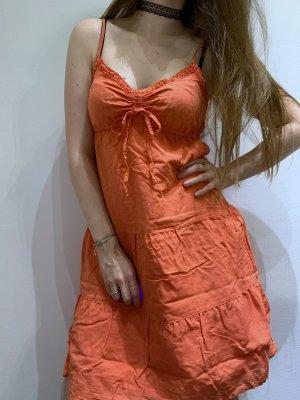 Oranges Sommerkleid | Esprit