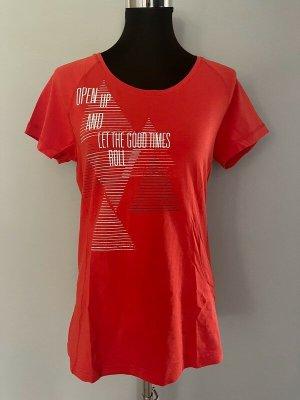 Oranges T-Shirt von Esprit, Gr. 42