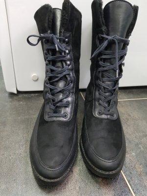 ORBIT NOVA Bottine d'hiver noir cuir