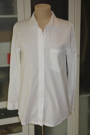 81hours Long Sleeve Blouse white cotton