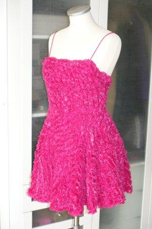Org. AJE Runway 950€ Minikleid aus tollem Stoff in fuchsia Gr.34 Neu+Etikett
