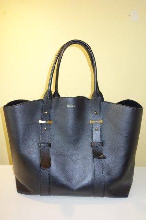 Alexander McQueen Shopper black leather