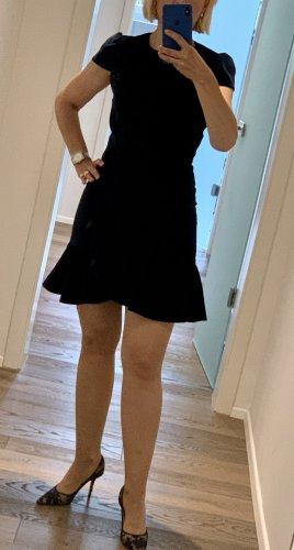 Alice + Olivia Sukienka koktajlowa ciemnoniebieski Aksamit