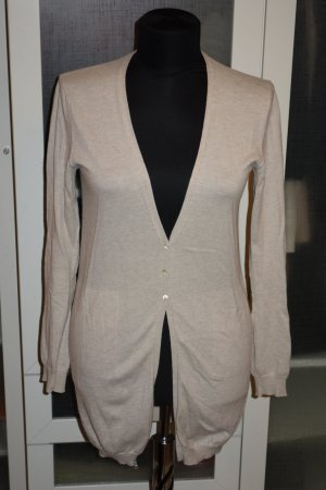 Allude Knitted Cardigan cream