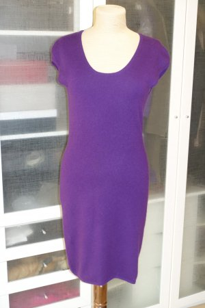 Allude Knitted Dress lilac cashmere