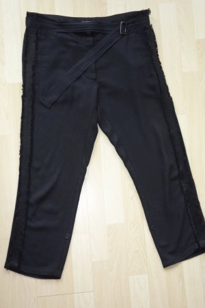 Ann Demeulemeester Pantalón tipo suéter negro