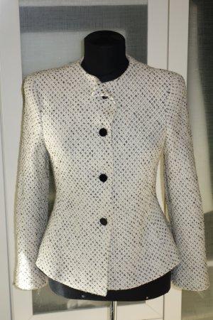 Org. ARMANI Collezioni Tweed Blazer in creme Gr.34